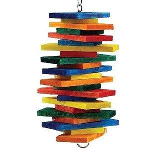 houten speelgoed parkiet